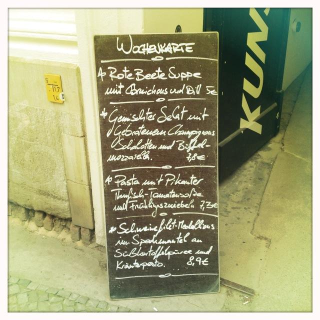 Café Bravo, Kunst-Werke, Berlin-Mitte