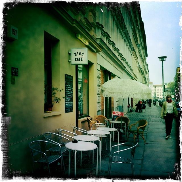 Ribo Cafe - Eingang