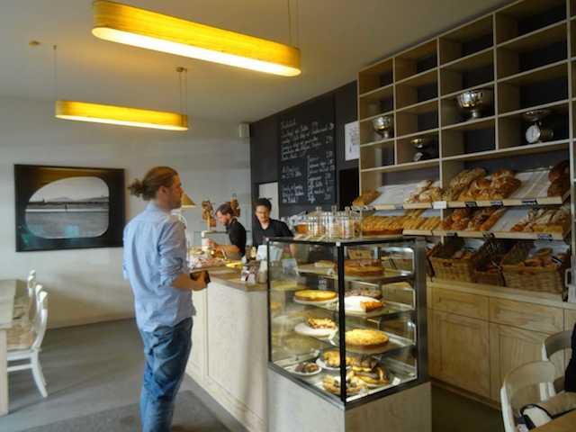 Alpenstück Bäckerei - der Tresen