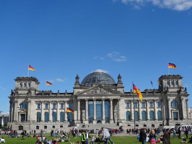 Kaefer Restaurant im Reichstag - der Reichstag