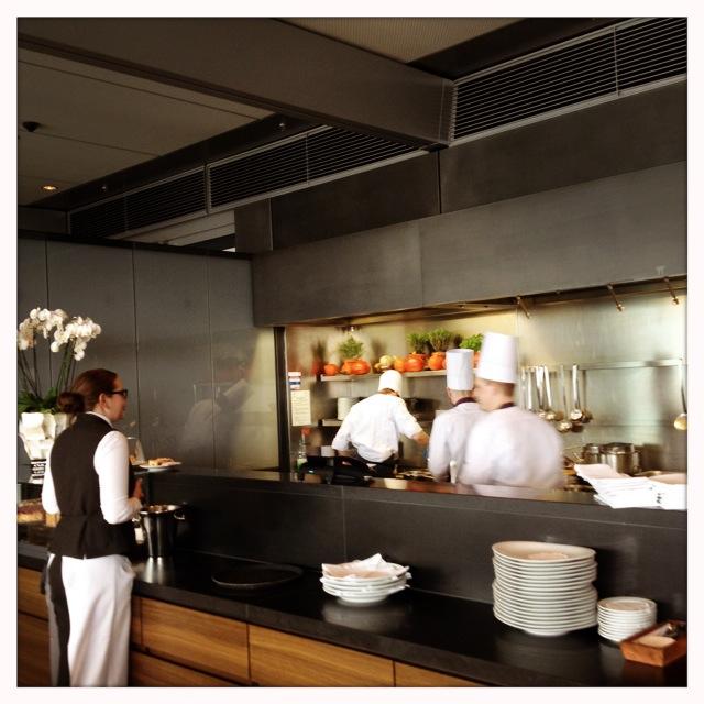 Kaefer Restaurant im Reichstag - die Küche