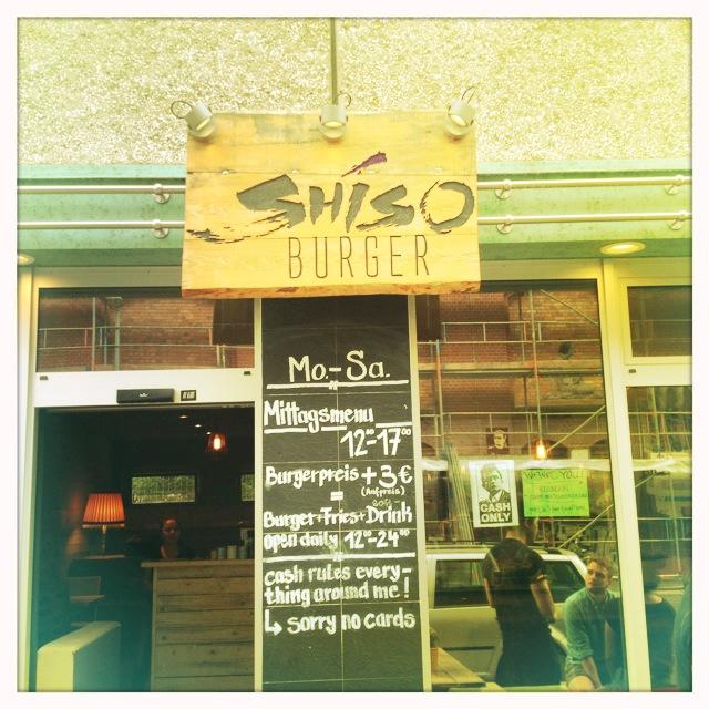 Shiso Burger - der Eingang