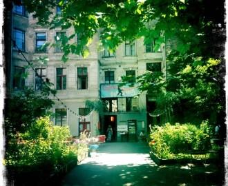 Claerchens Ballhaus - der Eingang